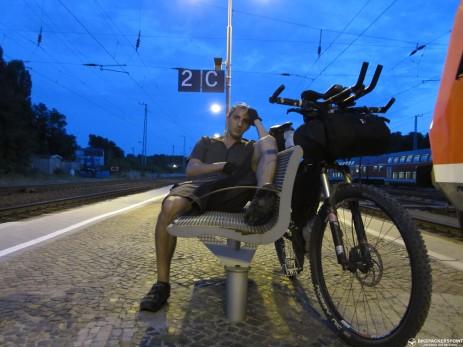 3h später am Bahnhof